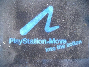 Playstation Chalk Stencils